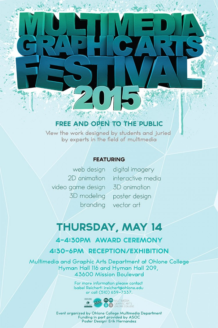 Multimedia and Graphic Arts Festival Poster