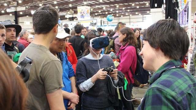 Ohlone College Maker Faire VR and IoT project